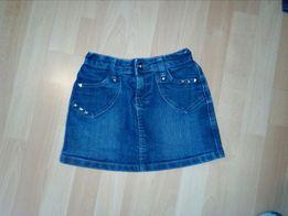 Spódniczka jeansowa z dżetami 128/134