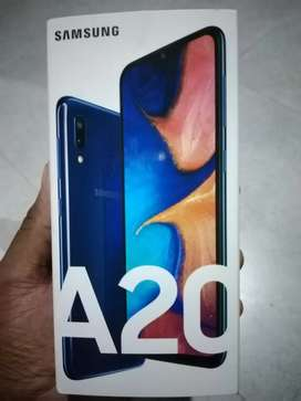 Samsung A20 in good condition for sale urgently for R2450 negotiable