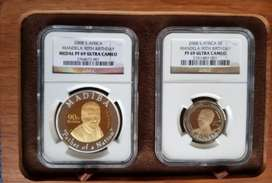 2008 Mandela Graded Celebration set