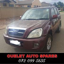 Chery Tiggo Stripping for used parts