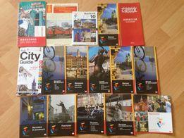 Warszawa broszury turystyczne, atrakcje