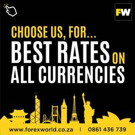 Do you have foreign currency that you would like to exchange?
