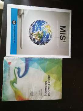 MIS6 and About Financial Accounting Textbooks