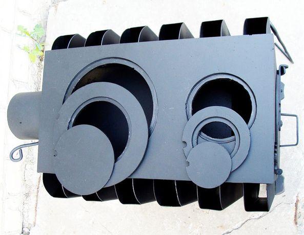 """Идеальная буржуйка с двойным дожигом """"Батарея"""" 4мм, 2 вароч.комфорки Днепр - изображение 2"""