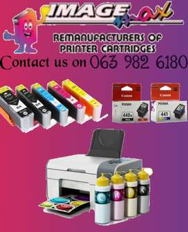 Ink cartridges and laser toners