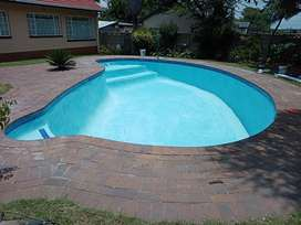 Swimming pools, Lapa & paving