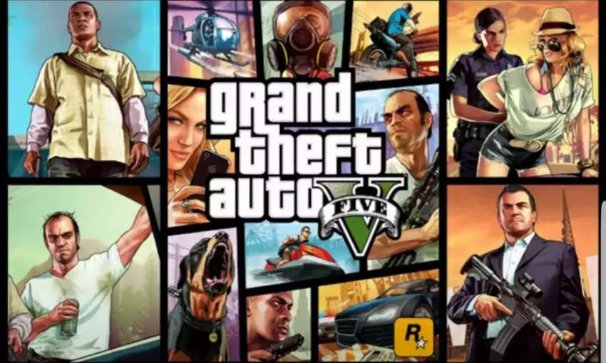 GTA 5 Full Game & Other PC Video Games 0
