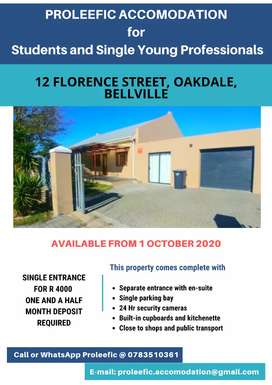 Newly renovated Accomodation in Bellville