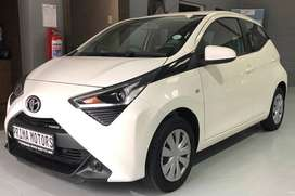 2020 Toyota Aygo with 96 km on the clock