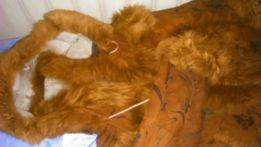 Дублянка дубленка куртка натуральна зима 4-5 рокiв