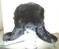Шапка ушанка кролик розмір ~47-50 б. в.