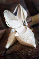 Свадебные босоножки Louisa Peeress (Италия, кожа)