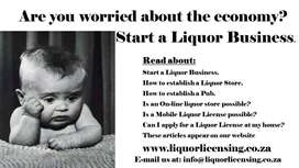 ESTABLISH A LIQUOR BUSINESS.