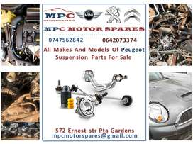 ALL MAKES AND MODELS OF PEUGEOT SUSPENSION PARTS FOR SALE