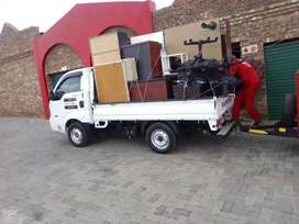 Trucks and bikkie for hire any tym