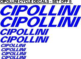 Cipollini bicycle frame decals stickers graphics kits