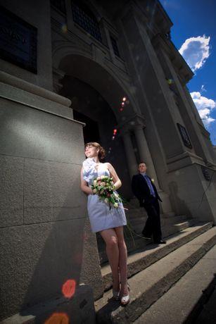 Свадебное платье короткое разм 42-46 Харьков - изображение 6