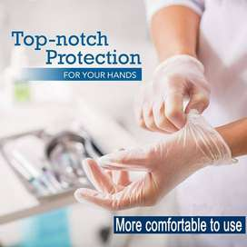 Protective Vinyl Gloves Disposable Latex-free powder-free NEW Products