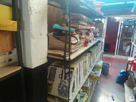 Spare Shop Shelving