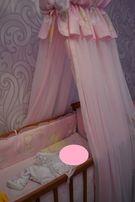 Балдахин + держатель+защита для кроватки