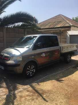 VW T5 double cab Transporter for sale