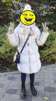 Женский (junior) зимний пуховик пальто Snowimage (размер 158)