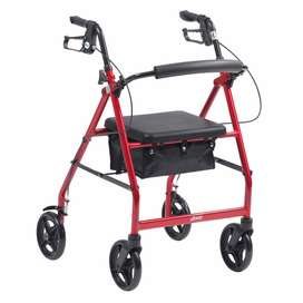 R6 Rollator by Drive Medical. Lightweight, Aluminium. On Promotion