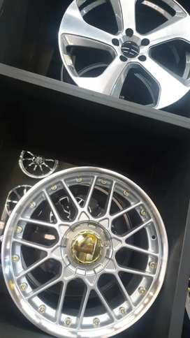 Spare wheels rims mags muti fitments
