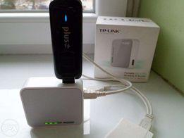 Router TP-Link TL-MR3020 3G/4G/LTE + modem HUAWEI E3276 LTE