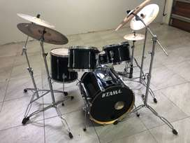 DRUM KIT - TAMA SUPERSTAR BLACK