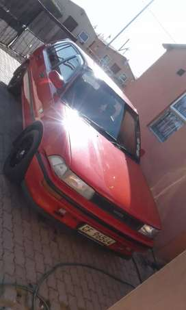 Toyota tazz/conquest, car is in driving condition, license up to date