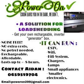 POWER ON INVERTERS