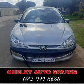 Peugeot 206 stripping for parts and spares
