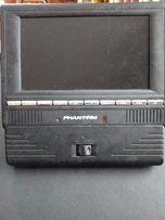обменяю или продам портативный DVD плеер PHANTOM с ТВ тюнером