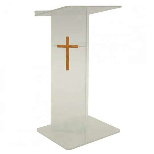 Pulpit With Cross 0