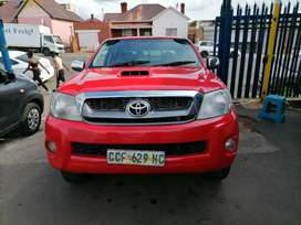 2008 Toyota Hilux 3.0 D4D with a leather seat Double Cab