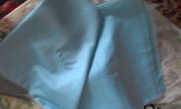 Отрез ткани нежно-голубого цвета