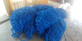 9M X 9M AND 16M X 9M CARGO NETS,READILY AVAILABLE,ALSO TARPAULINS