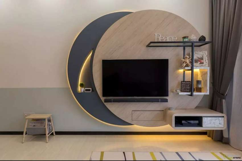 Latest wall units TV stand 0