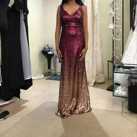 Matric ball sequined Evening Gown