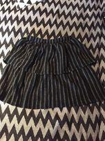 NOWA Elegancka spódnica z falbaną ZARA
