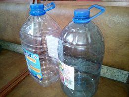 Пластиковая бутылка (баклажка)