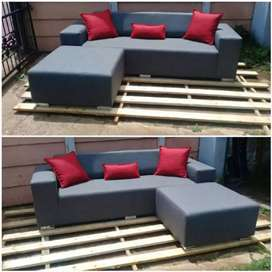 Custom made couches in PE