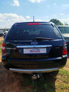 Ford Territory 2006 4x4 Stripping for Parts