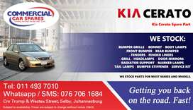 KIa Cerato Parts and Spares For Sale.