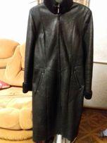 Продам натуральную женскую дубленку 46 размер