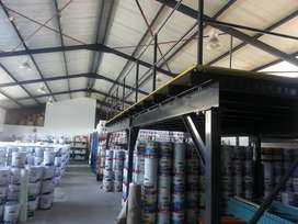 Mezzanine floors/structural floor or Racking and fencing