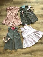 Sukienki na rożne okazje wizytowe dla dziewczynki ok 3 lata na święta