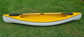 Canoe and oars R1500.