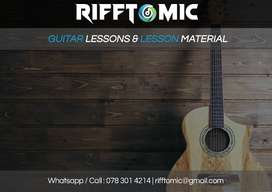 Looking for inspiring guitar lessons in-person or online?
